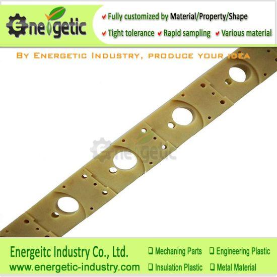 Nc Machining of Cast Nylon Machining Pad Plastic Parts with PA6 Sealing Strip/Custom Plastic Parts/Machinable Plastic/Plastic Parts/CNC Plastic/Plastic Machinig