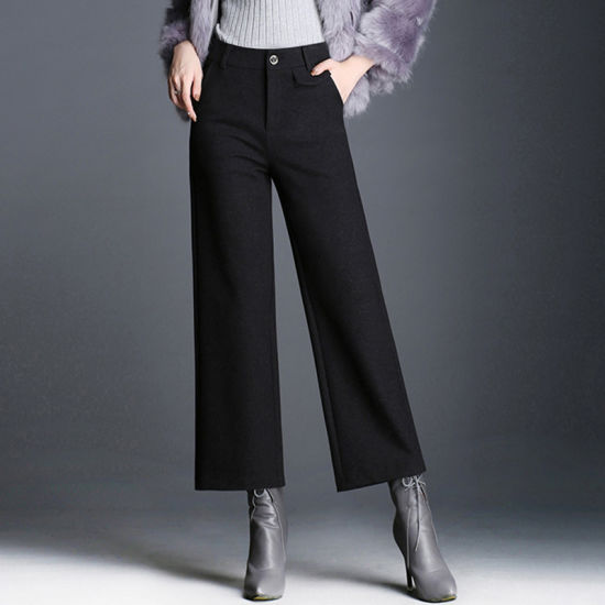 944bfedce6f Wholesale Plus Size Women′s Western Ladies Bell Bottom Trousers Cutting  pictures & photos