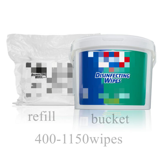 700-Wipes Fresh Scent Disinfecting Wipes Refill for Commercial Facilities