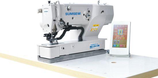 Sum1790A High Speed Computer Button Hole Machine