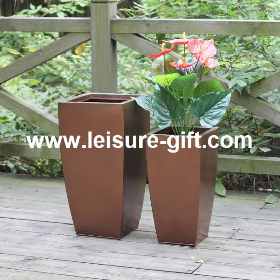 China Fo-9715 Zinc Planter for Garden Decorate - China Zinc ... on round corrugated planters, wall mounted planters, aluminum planters, iron planters, plastic planters, corrugated raised planters, window boxes planters, urn planters, chrome planters, large planters, lead planters, copper finish planters, old planters, resin planters, bucket planters, pewter planters, stainless steel planters, stone planters, long rectangular planters, tall planters,