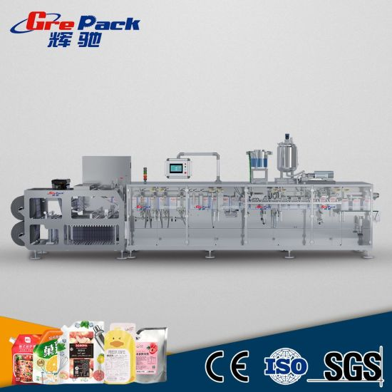 Horizontal Stand up Spout Pouch Packaging Machine