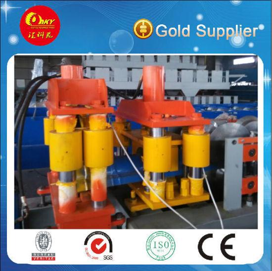 PLC Control Crest Tile Roll Forming Machine