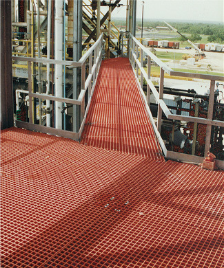 Fiberglass Platform with Gratings and Handrail pictures & photos