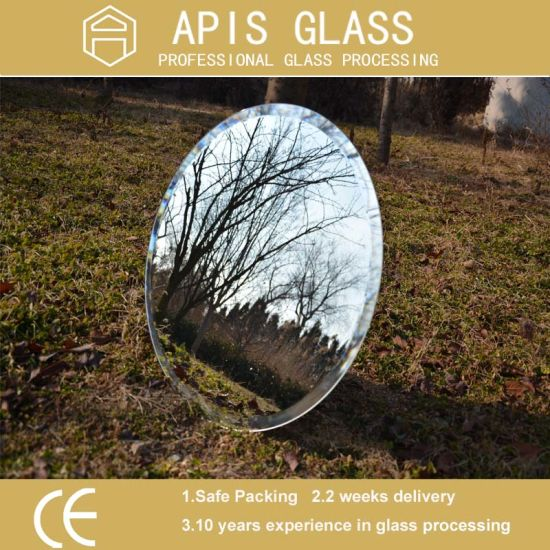 5mm Silver Mirror with Adhesive PE Protective Safety Film for Furniture pictures & photos