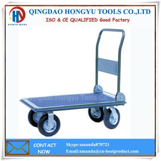 Plastic Hand Trolley Platform Hand Truck