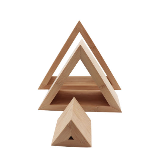 China Bamboo Triangle Home Decoration Pieces - China Bamboo Home ...
