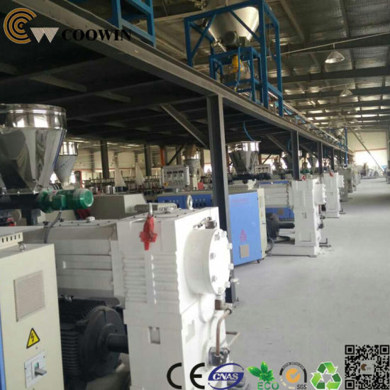 WPC Profile Extrusion Machine Line pictures & photos