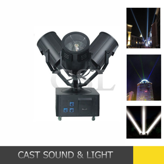 China stage 9000w three heads outdoor sky search light with stage 9000w three heads outdoor sky search light with colormixing aloadofball Choice Image