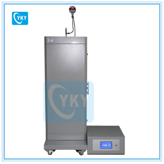 High Temperature High Pressure Vertical Tube Furnace with Safety Shell Cover pictures & photos