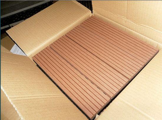 China Wpc Diy Decking Tiles Roofbalcony Washing Room Diy Wpc Floor