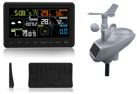 China Professional Colorful WiFi APP Weather Station - China