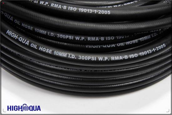 Smooth or Cloth Surface SAE J30 R6 Rubber Oil Hose Fuel Hose