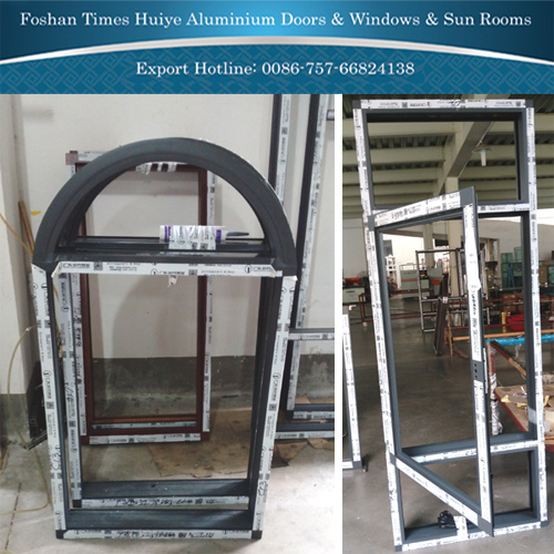 Aluminium Fixed Window with Tempered Glass for Interior Decoration pictures & photos