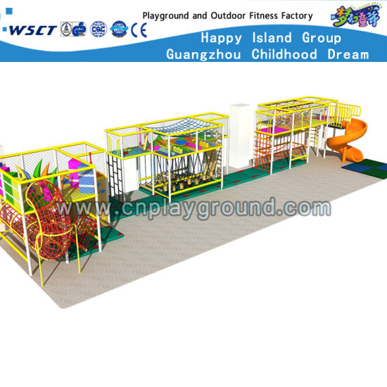 Indoor Playgrounds Children Trampoline Play Equipment (HD-0198) pictures & photos
