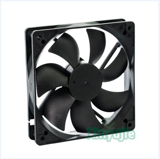 12V 24V 48V 120mm 12cmx12cm DC Fan 120X120X25mm Cooling Fan pictures & photos
