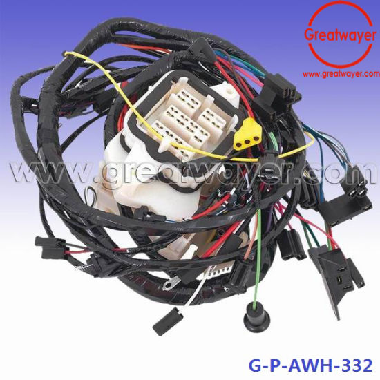china engine parts fuse box wire harness control cable assemblies rh greatwayer en made in china com Old 60 Amp Fuse Box 60 Amp Fuse Box Wiring