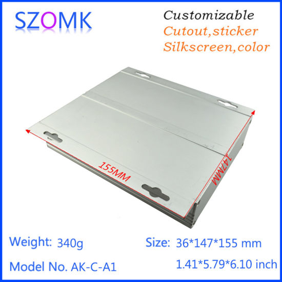 Hot Sale Aluminum Enclosure Extrude for Electronics pictures & photos