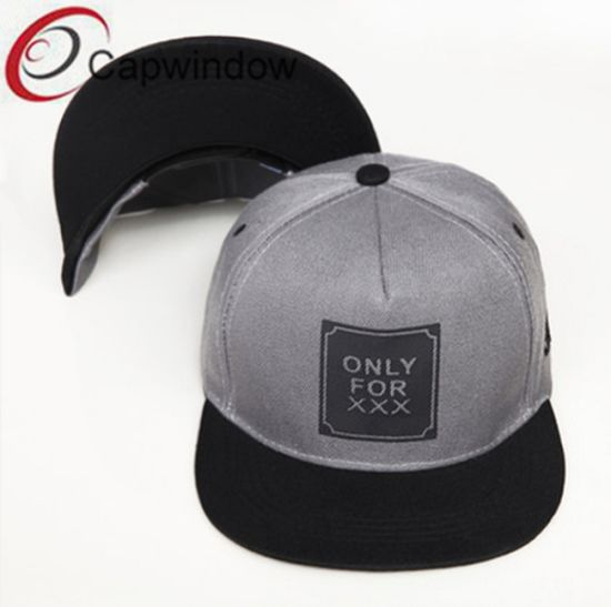 65037bbfe4d Grey 3m Reflective Material Snapback Cap with Woven Label (01216) pictures    photos