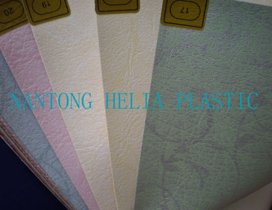 PVC Decorative Leather, PVC Upholstery Leather pictures & photos