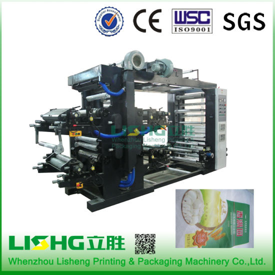 Ytb-4600 High Technology Nonwoven Fabric Flexo Printing Machinery pictures & photos