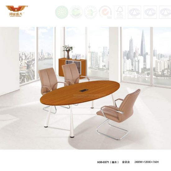 China Office Wooden Meeting Desk Conference Table H China - Desk conference table combination