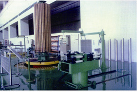 Over Floor Vertical Winding Machine pictures & photos