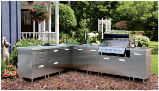 Hot Sale Stainless Steel Outside BBQ Patio Kitchen