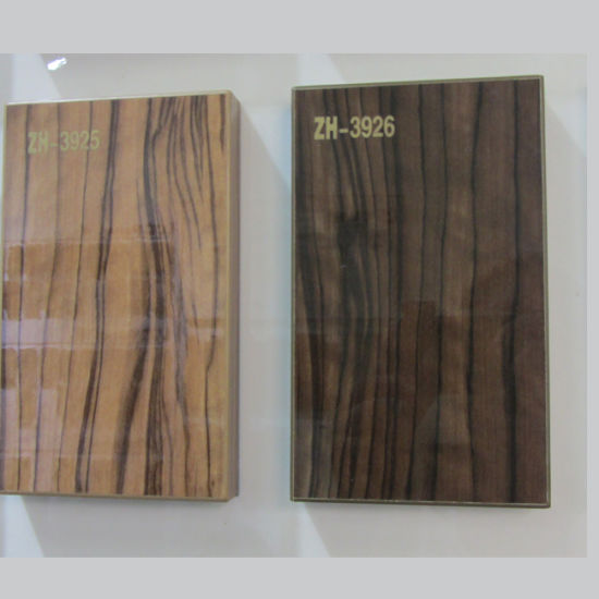 UV Painting MDF Panel For Kitchen Cabinet Door (ZH3926)
