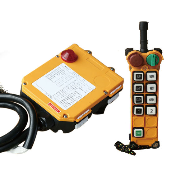 Industrial Wireless Crane Remote Control Switch F24-8d