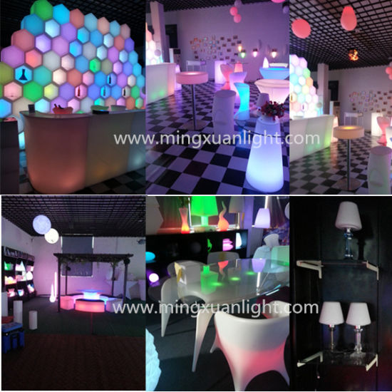 Color Changing Rechargeable LED Illuminated Furniture (YS-1901)
