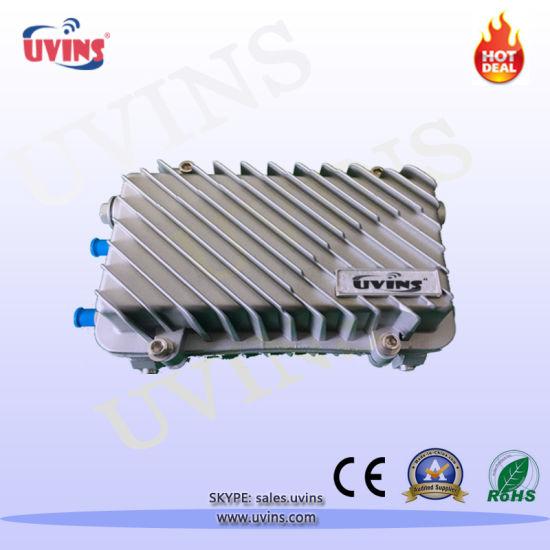 CATV 2 Output AGC Outdoor Fiber Optical Receiver/ Node