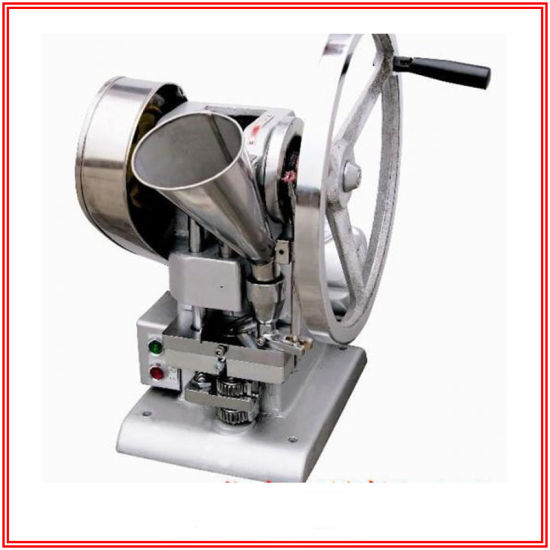 Electric Drive Single Punch Tablet Press Machine for Lab/ Laboratory
