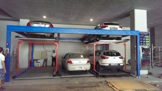 Hydraulic Lift Slide Auto Car Garage Parking pictures & photos