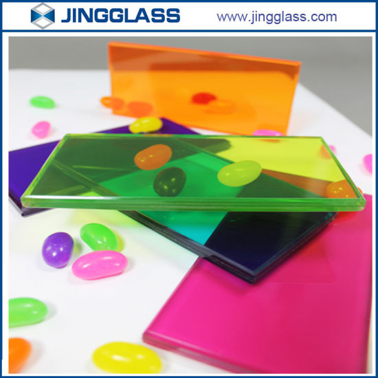 china multi color toughened tempered laminated glass safety building