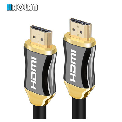HDMI Cable 5FT - HDMI 2.0(4K@60Hz) Ready -18Gbps-28AWG Braided Cord -Gold Plated Connectors -Ethernet, Audio Return -Video 4K 2160p, HD 1080P,3D -xBox Playstati