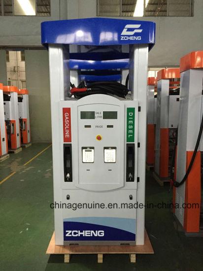 Zcheng New Fuel Dispenser 4nozzle Fuel Dispenser New Design of G Series