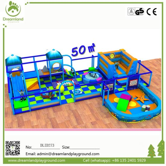 China Factory Price Mcdonalds Indoor Playground Equipment pictures & photos