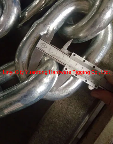DIN763 Long Link Hot Galvanized Chain