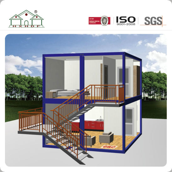 China Prefabricated Modular Container Luxury House For