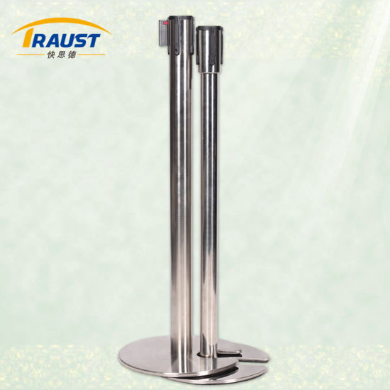 High Quality Stainless Steel Retractable Belt Barriers/Queue Management System