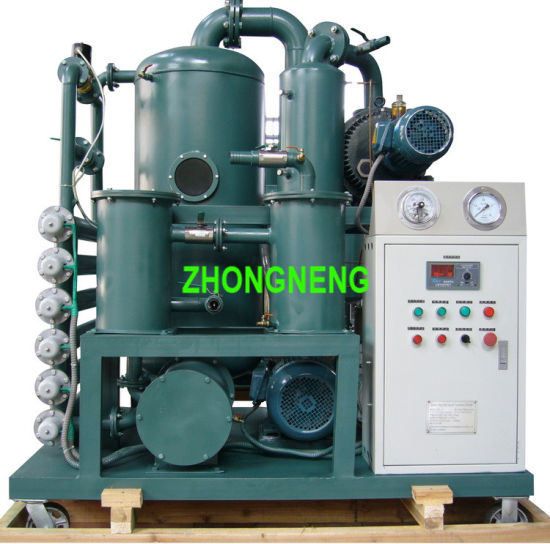 High Vacuum Transformer Oil Purifier with Enclosure Type Zyd