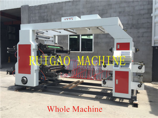 High Quality 6 Color Flexo Printing Equipment pictures & photos