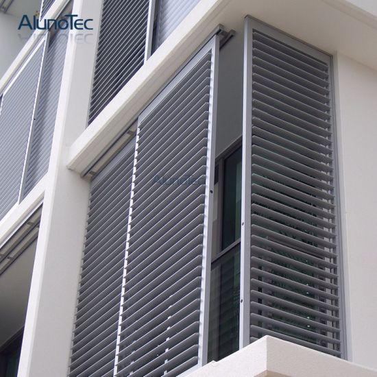 China Aluminum Folding Shutter Window Door Supplying