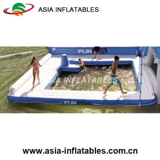 Inflatable Swimming Enclosure Portable Floating Pool Enclosure, Nettle Net  Boat Pools