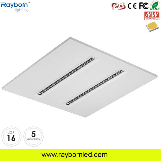 600X600 30W 40W Flat Modular LED Panel Light for Office Ceiling Lighting 150lm Ugr<16 pictures & photos