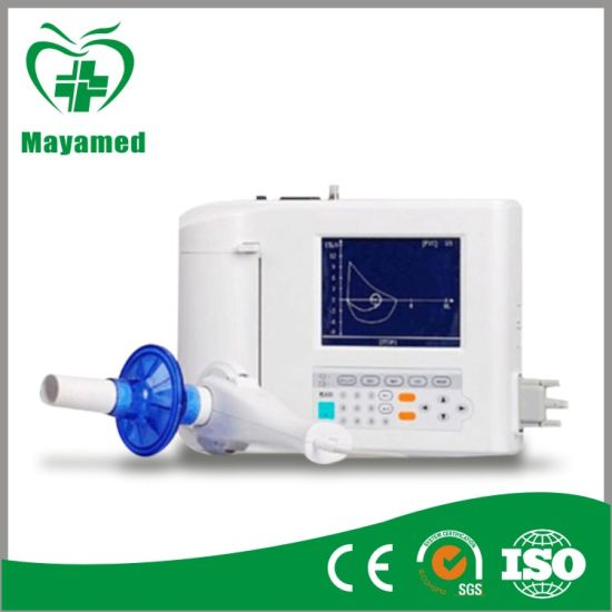 Factory Price My-C037 Portable Spirometer, Digital Spirometer for Hospital pictures & photos