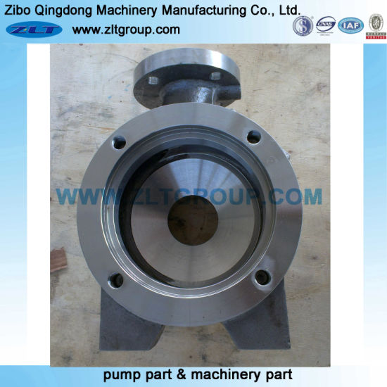 Sand Casting ANSI Goulds 3196 Chemical Process Centrifugal Process Pump Parts in Stainless/Carbon Steel Pump Casing in 1.5X3-6 Size