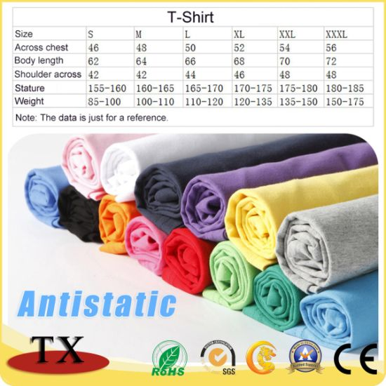 Customized Logo Cotton Printing Promotion Clothing T-Shirt pictures & photos