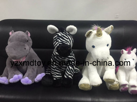 Plush Stuffed Animals White Unicorn Toy pictures & photos